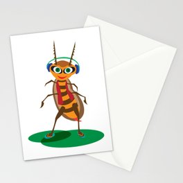 Happy Bug Stationery Cards