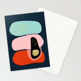Modern minimal forms 41 Stationery Cards