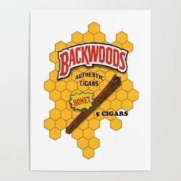 Backwoods logo Poster
