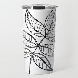 Ash Leaves Travel Mug