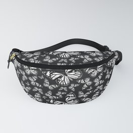 Monarch Butterflies | Monarch Butterfly | Vintage Butterflies | Butterfly Patterns | Black and White Fanny Pack