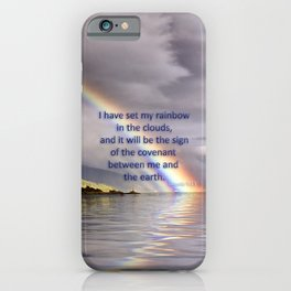 The Rainbow Covenant iPhone Case