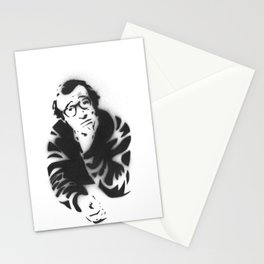 Woody Allen Portrait Stationery Cards