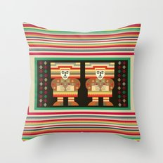Nick's Blanket 1968 Version 2 (With Figures) Throw Pillow