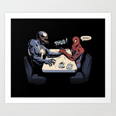 OK, Let's settle this! Art Print