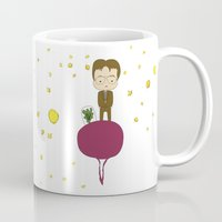 dwight schrute Mugs featuring Dwight Schrute by Creo tu mundo