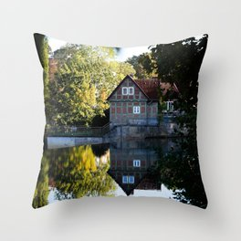 Former lock keeper's house Throw Pillow