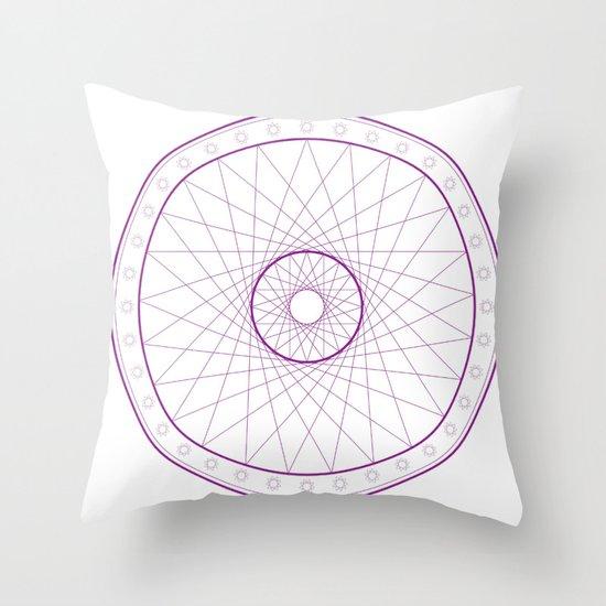 Anime Magic Circle 15 Throw Pillow