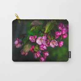 Flowering Crab Petals Carry-All Pouch