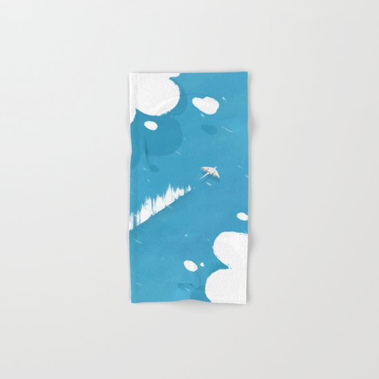 sea skimmer Hand & Bath Towel