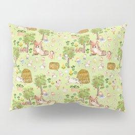 Mary Had A Little Lamb - Children´s Fairytale Pattern Pillow Sham