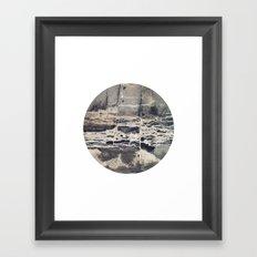 Planetary Bodies - Cement Framed Art Print