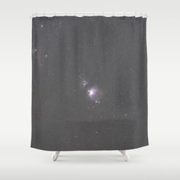 Orion Running Man flame and Horsehead Nebula's Shower Curtain
