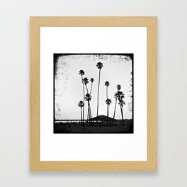 Oceanside Beach, California Framed Art Print