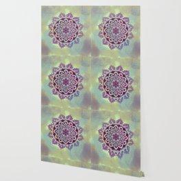 Hipnotic Mandala Design Wallpaper