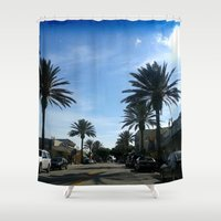 hawaii Shower Curtains featuring Hawaii by Kaitlynn Marie