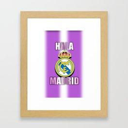 Hala Madrid Framed Art Print