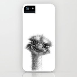 Hello-you ostrich sk130 iPhone Case