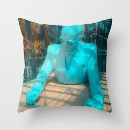 Le Corbusier by Xavier Veilhan Throw Pillow