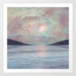 Under the Stars Art Print