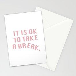 Break Time Stationery Cards