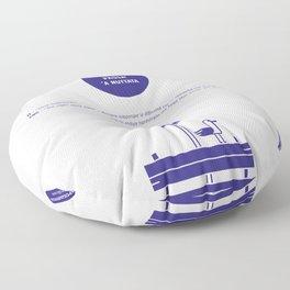 Adda passa' 'a nuttata Floor Pillow
