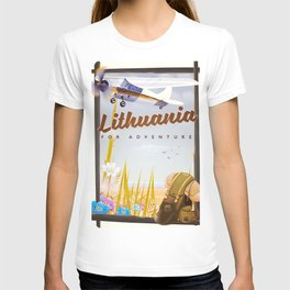 lithuania For an adventure T-shirt