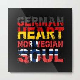 Norway Norwegian Flag Metal Print