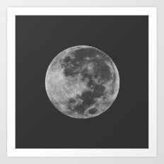 Midnight Moon Art Print