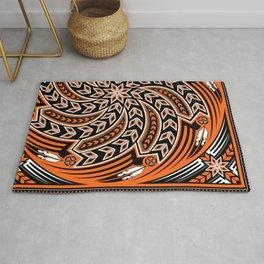 Wind Spirit (Orange) Rug