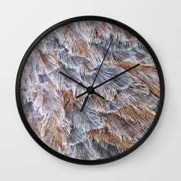 Feather Plumage Wall Clock