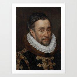 William I, Prince of Oranje, Adriaen Thomasz. Key, c. 1579 Art Print