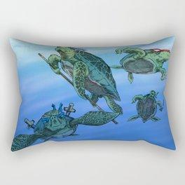 Ninja Turtles Rectangular Pillow