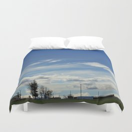 Tract Duvet Cover