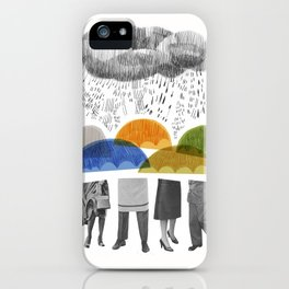 cloudy days for uppercase mag iPhone Case