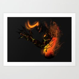 Demon Art Print