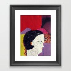 swimmer #3 Framed Art Print