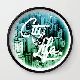 CityLife Wall Clock