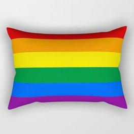 LGBT Flag Rectangular Pillow