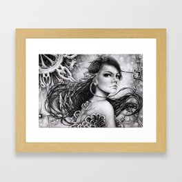 LORDS OF TIME Framed Art Print
