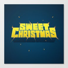 Sweet Christmas Canvas Print