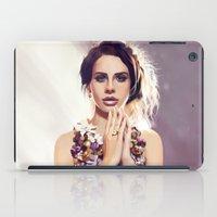 lana iPad Cases featuring Lana by MartaDeWinter