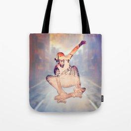 The Skateboarder Tote Bag