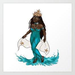 Yemoja Art Print