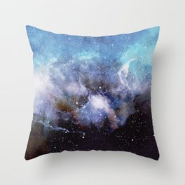 Over the Stars Throw Pillow