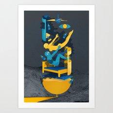 Marcas Art Print