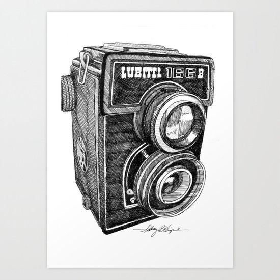 Lubitel Art Print