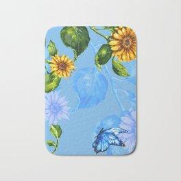 Sunflower's Glory Bath Mat