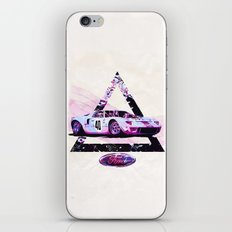 Ford Gt40// Le Mans Race Cars iPhone & iPod Skin