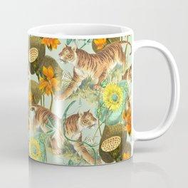 TIGERS IN THE MINT JUNGLE Coffee Mug